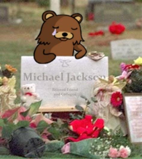 マイケルジャクソン:pedobearの悲しみ